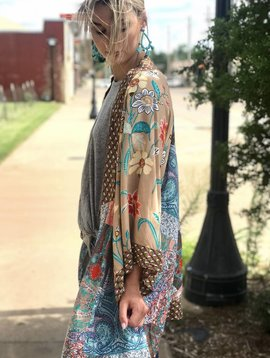 umgee Multi Print Kimono