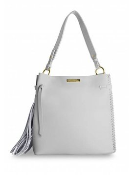 Katie Loxton Florrie Day Tassel Bag Grey
