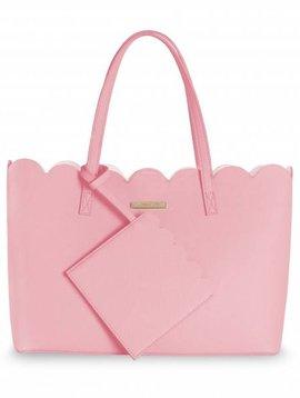 Katie Loxton Pretty Scallop Handbag Blush Pink