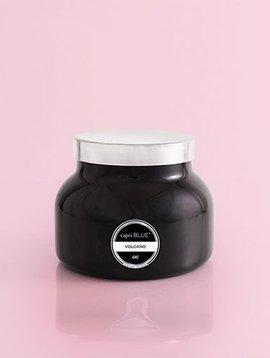 Capri Blue 19 oz. Black Signature Jar Volcano NO. 6