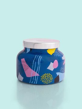 Capri Blue 19oz Gallery Blue Jar-Volcano