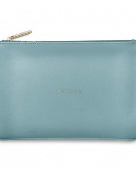 Katie Loxton Mine All Mine Teal Perfect Pouch