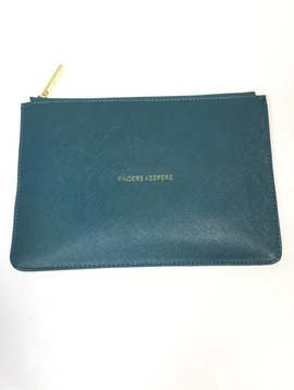 Katie Loxton Finders Keepers Teal Perfect Pouch