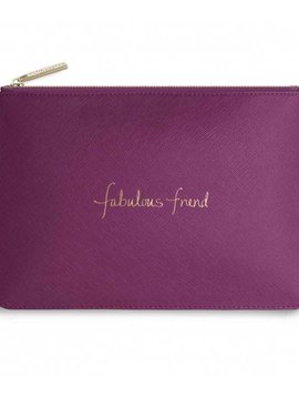 Katie Loxton Fabulous Friend Cerise Pink Perfect Pouch