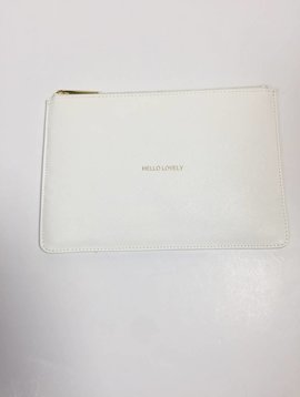 Katie Loxton Hello Lovely White Perfect Pouch