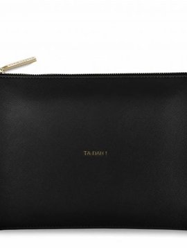 Katie Loxton Ta Da Black Perfect Pouch