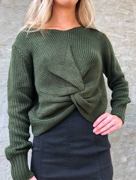 Sage the Label Hold You Close Sweater