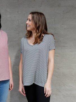 Buffalo Trading Co. Stripe In The Deep T-Shirt