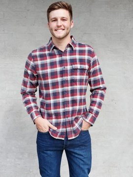 The Normal Brand Marco Washed Twill Button Up