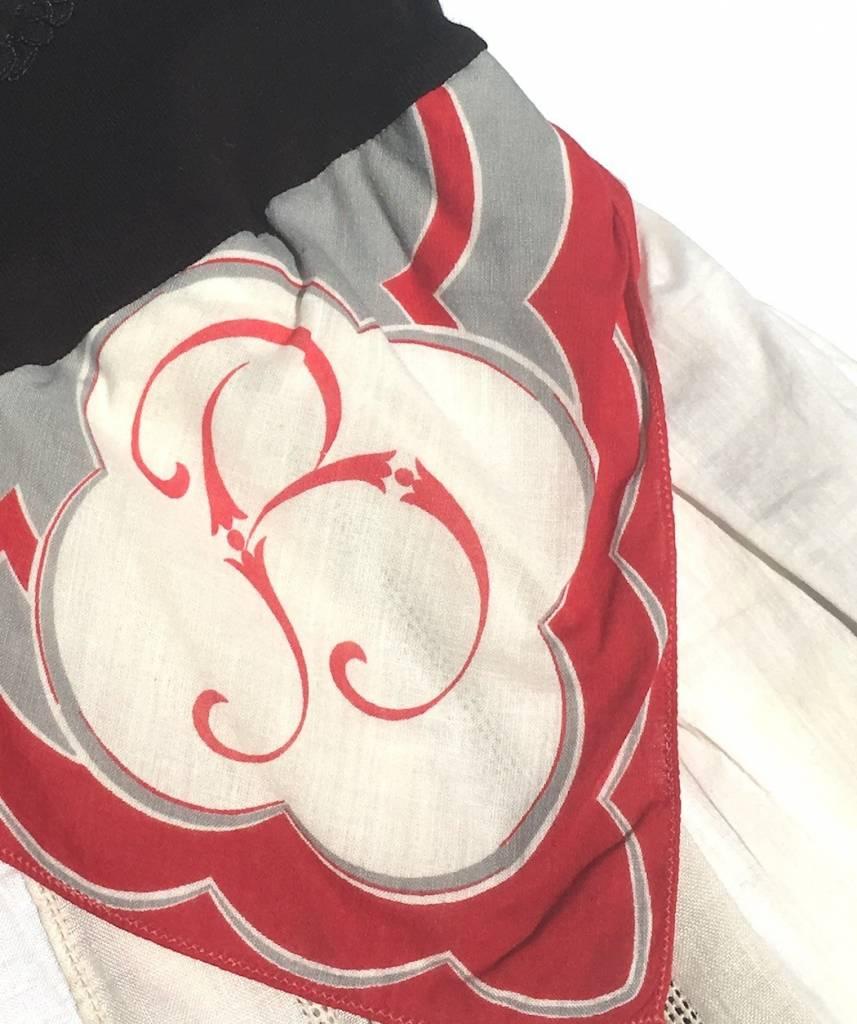 B Addie Monogram One Piece 6-12mos