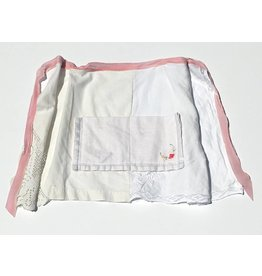 Betty Apron White 2-8yrs