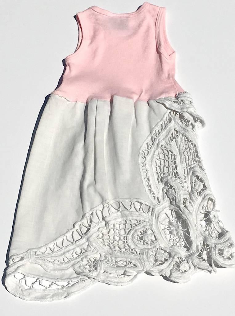 Dot Dress Pink Tank 12-18mos