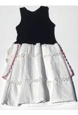 Lizzie Dress Black Tank 4-5yrs