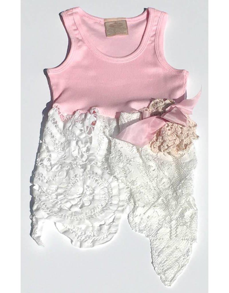 Audrey Tunic Pink Tank 4-5yrs