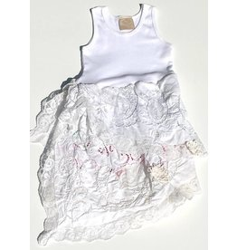 Lucinda Dress White Tank 4-5yrs