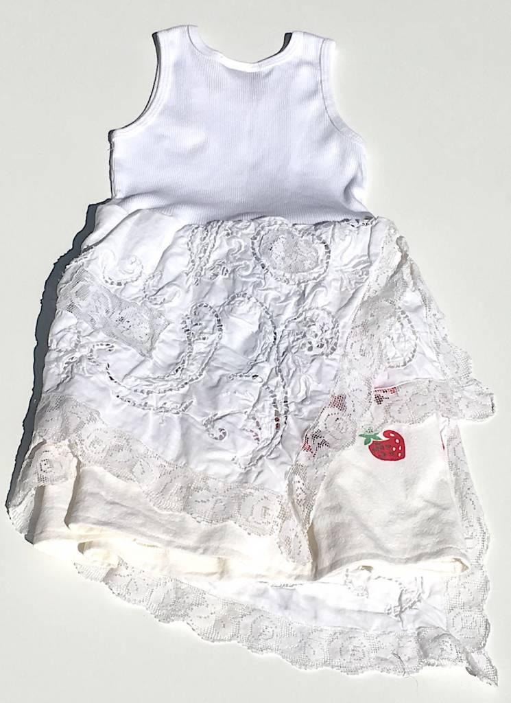 Lucinda Dress White Tank 4-5yrs