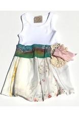 Regina Dress White Tank 6-12mos