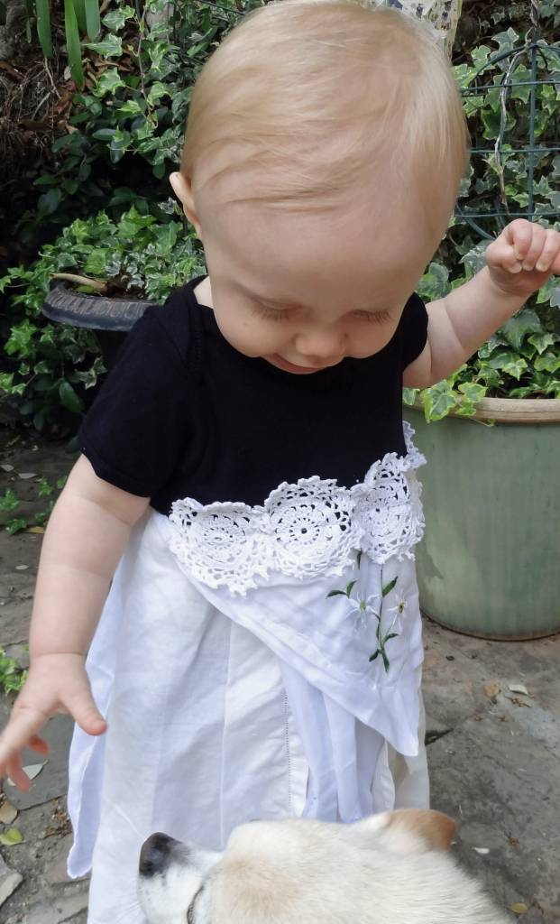 Tilly One Piece White s/s 6-12mos