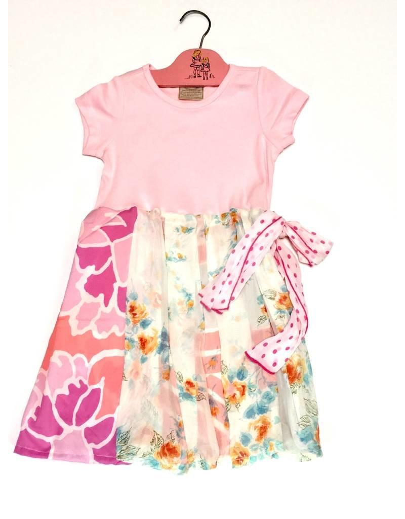Sylvia Dress Pink s/s 5-6yrs
