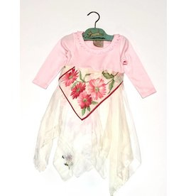 April Onesie Pink l/s 12-18mos