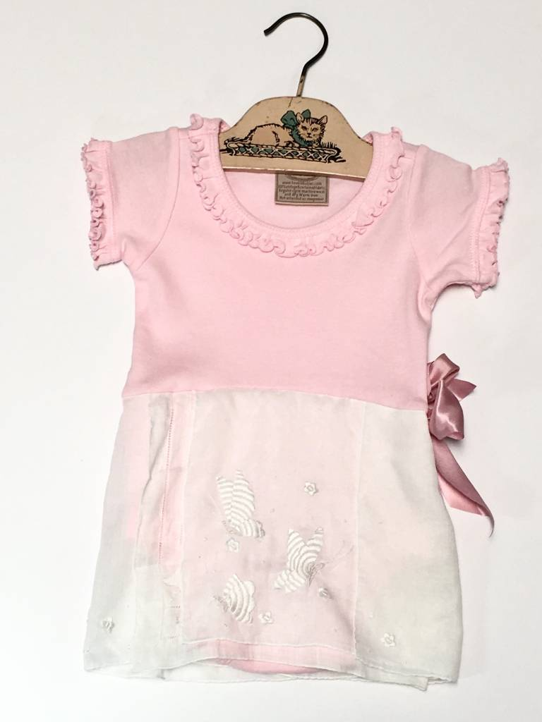Phoebe One Piece Pink s/s 12-18mos