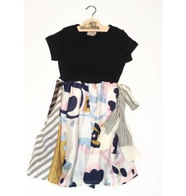 Sylvia Dress Black s/s 6-7yrs