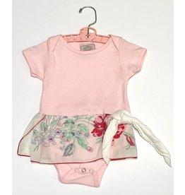 Bree One Piece Pink s/s 6-12mos