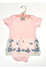 Paige One Piece Pink s/s 6-12mos