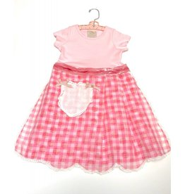 **Granny Dress Pink s/s 3-4yrs