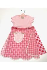 **Granny Dress Pink s/s 3-4yrs