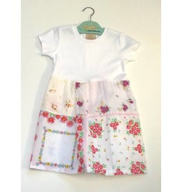Flossie Dress White s/s 2-3yrs