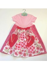 Custom Dress Pink s/s 4-5yrs