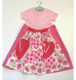 Custom Dress Pink s/s 4-5yrs