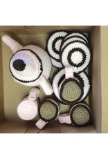 Crochet Tea Set 13 pcs