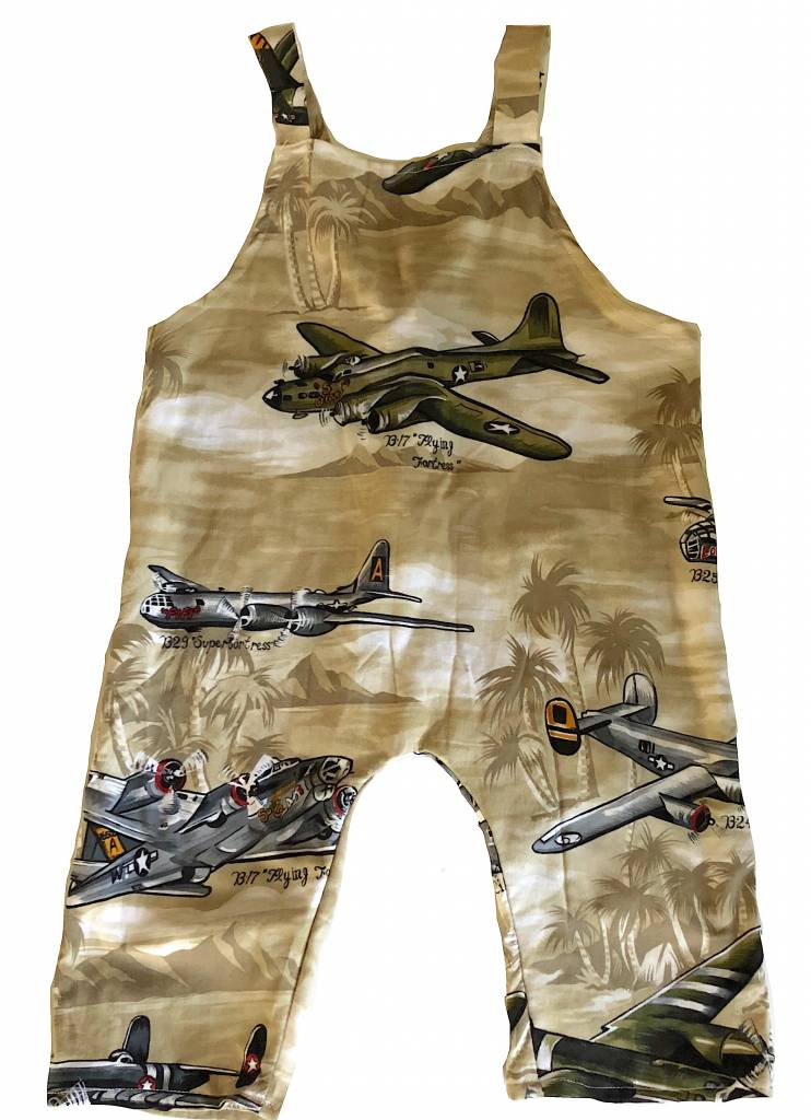 Airplane Rayon Romper