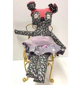 Pink Tulle Bear