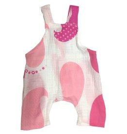 Pink Paisley Gauze Romper
