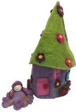 Round Fairy House 3pc