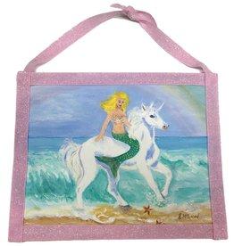 Mermaid Unicorn Art