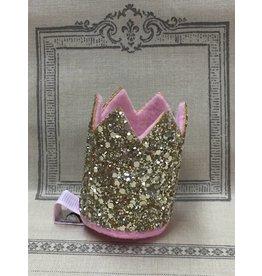 Gold Crown Hair Clip