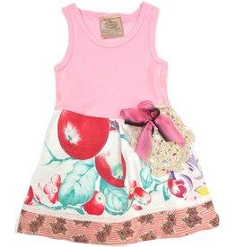 Custom Dress Pink Tank 3-6mos