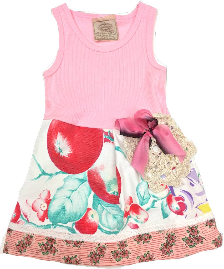 Custom Dress Pink Tank 3-6mos