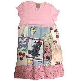Custom Dress Pink s/s 8-9yrs