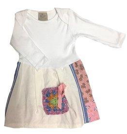 Custom Dress White l/s 12-18mos