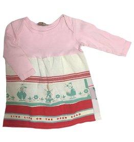 Custom Dress Pink l/s 12-18mos