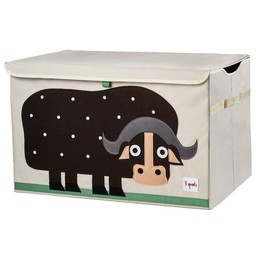 3 sprouts *Coffre à Jouets de 3 Sprouts/3 Sprouts Toy Chest, Buffle/Buffalo