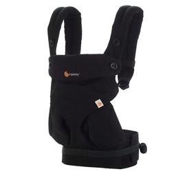 Ergobaby Ergobaby 360 - Porte-bébé/Baby Carrier, Complètement Noir/Pure Black