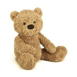 Jellycat *Ours Bumbly de Jellycat/Jellycat Bumbly Bear, Moyen/Medium, 17 pouces/inches