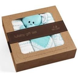 Aden + Anais *Coffret Cadeau en Bambou Berceuse/ Lullaby Bamboo Gift Set, Azure