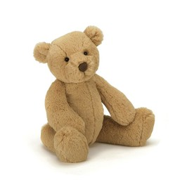 Jellycat *Ours Caramel de Jellycat/Jellycat Butterscotch Bear, Moyen/Medium, 14 Pouces/Inches